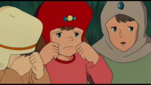 『風の谷のナウシカ』のおちびちゃんの赤いキャップ