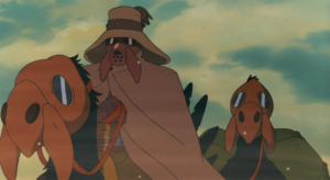 『風の谷のナウシカ』の冒頭のユパの旅路のシーン