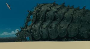 『風の谷のナウシカ』の王蟲