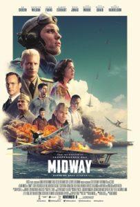 映画『ミッドウェイ』の映画ポスター(米国)